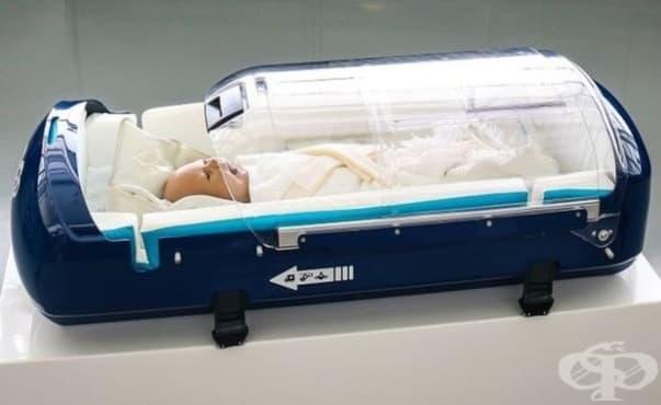 Устройство осигурява безопасност на новородените при транспортиране с линейка - изображение