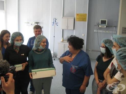 """Детската хирургия на УМБАЛ """"Св. Георги"""" получи дарение от два младежки клуба - изображение"""
