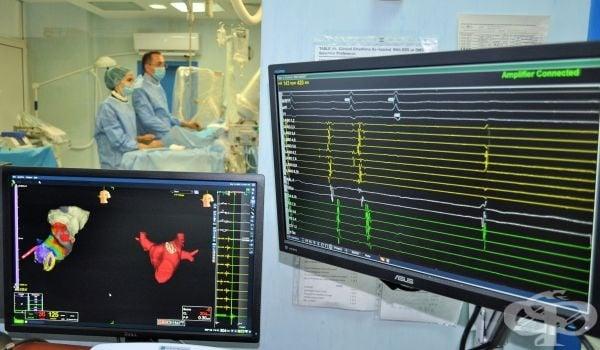 """В пловдивската Университетска болница """"Св. Георги"""" прилагат 3D навигация при премахване на аритмия вместо рентген - изображение"""