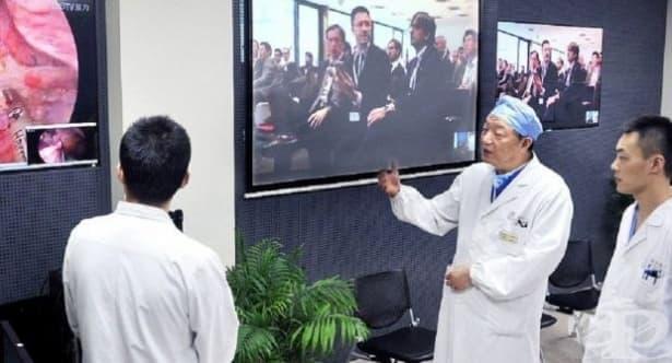 Д-р Линг Джъпей направи първата в света дистанционна операция на мозък - изображение