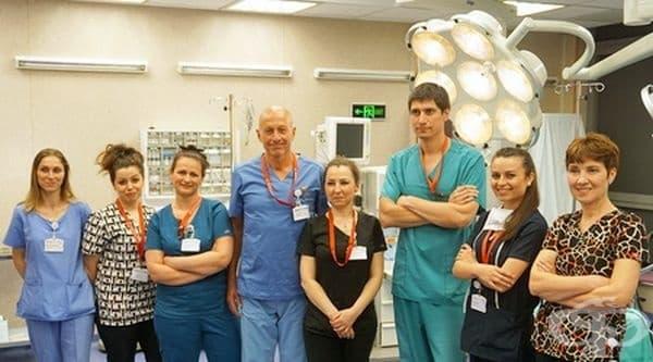 """Екип от МК """"Д-р Щерев"""" отстрани яйчников тумор, тежащ 12 килограма - изображение"""