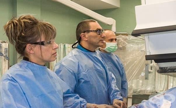 """Емболизация на простатата, извършена в Болница """"Тракия"""", помогна на възрастни пациенти да живеят без постоянен катетър - изображение"""