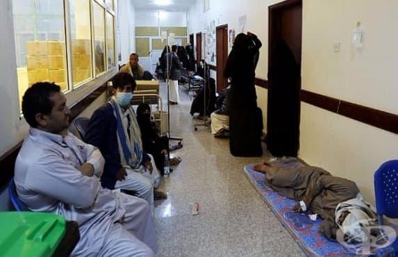 Над 2000 души на ден се разболяват от холера в Йемен - изображение