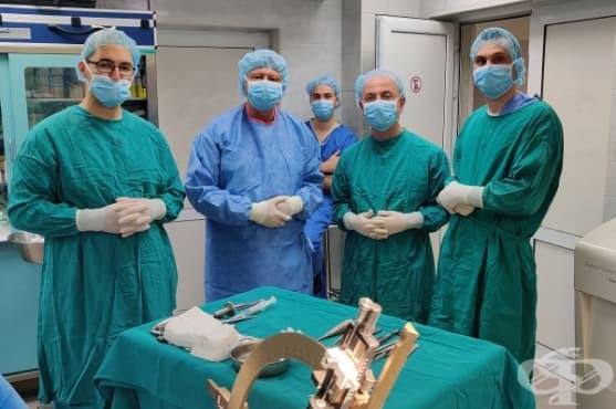 """В УМБАЛ """"Св. Марина"""" – Варна лекуват иновативно хора в напреднал стадий на болестта на Паркинсон - изображение"""