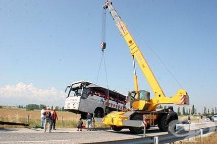 Четирима бургазлии са пострадали в катастрофата на магистрала Тракия - изображение