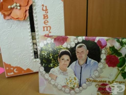 Казанлъшки младоженци се отказаха от сватбени цветя, за да направят дарение за деца - изображение