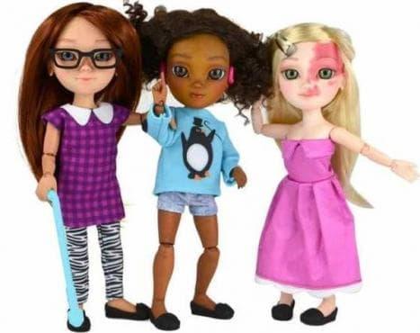 Компания за играчки пусна кукли с увреждания - изображение