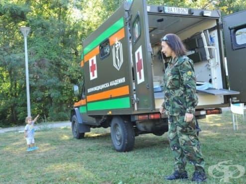 Лекари от ВМА представиха пред деца и младежи професията на военния медик - изображение