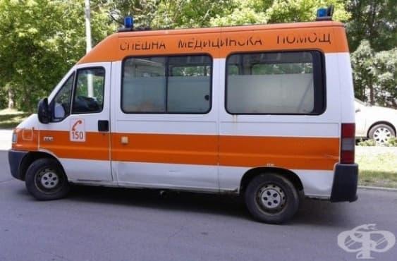 Линейка остави на пътя мъж с тежка гангрена на крака - изображение