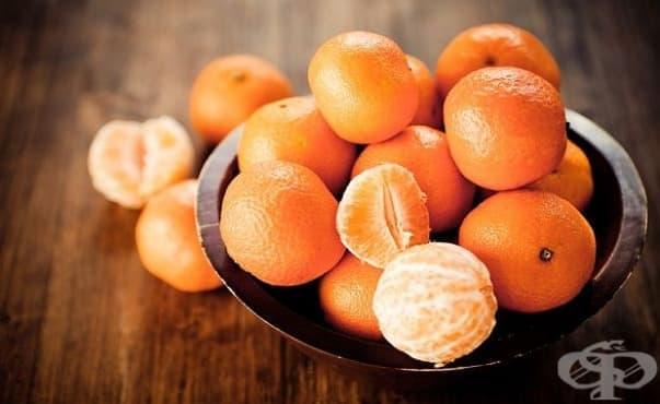 Разпространяват се боядисани мандарини из търговската мрежа - изображение
