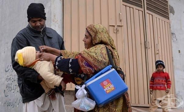 В Пакистан започна кампания за унищожаването на полиомиелита - изображение
