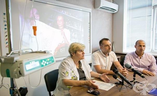 Млади хора дариха инфузионна помпа на УМБАЛ Св. Марина - Варна - изображение