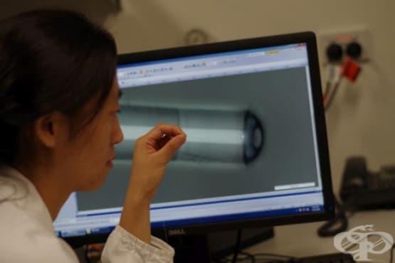 Създадоха видеосонда, която измерва температурата - изображение