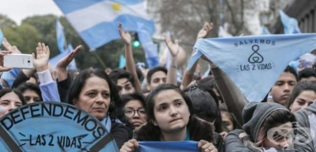 """Сенатът на Аржентина каза """"не"""" на абортите - изображение"""