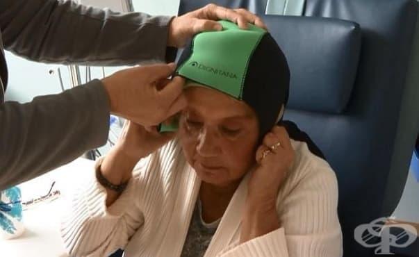 В САЩ предотвратяват загубата на коса след химиотерапия чрез охлаждане на скалпа - изображение