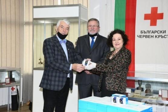Червеният кръст получи дарение от 50 гривни за хора под домашна карантина заради COVID-19 - изображение
