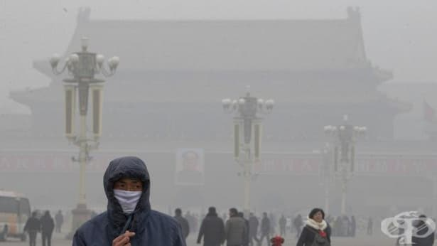 Заради смога около 700 предприятия в Пекин ще преустановят напълно дейността си - изображение