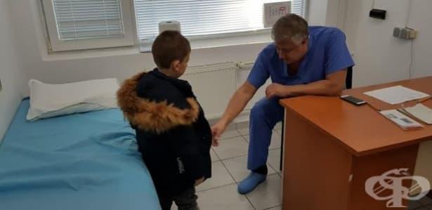"""Специалистите от """"Пирогов"""" прегледаха над 300 деца от Разград - изображение"""