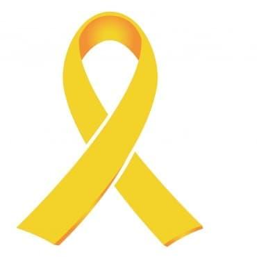 Златна панделка в подкрепа на децата, болни от рак - изображение