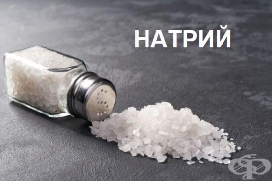 Натрий – значение за организма и хранителни източници - изображение