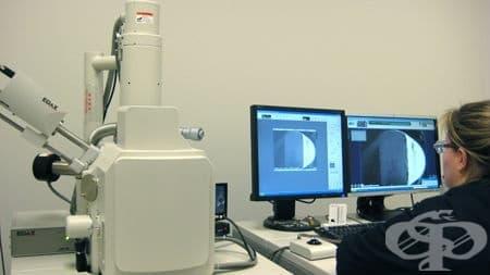Електронномикроскопско изследване - изображение