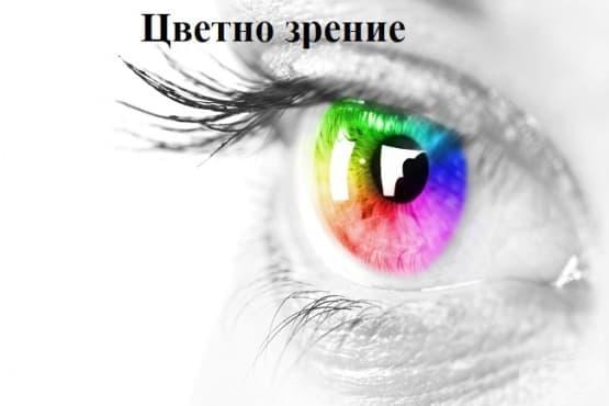 Цветно зрение - изображение