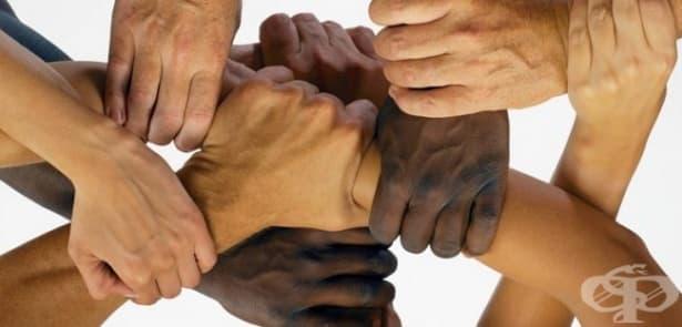 Цвят на кожата - изображение