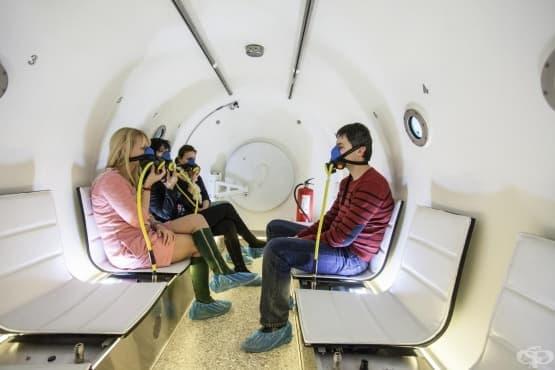 Хипербарна кислородна терапия - барокамера - изображение