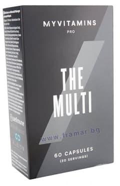 Изображение към продукта МАЙПРОТЕИН THE MULTI капсули * 60