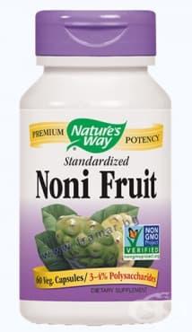 Изображение към продукта НОНИ ПЛОД  капсули 500 мг. * 60 NATURE'S WAY