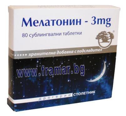 Изображение към продукта МЕЛАТОНИН таблетки 3 мг * 80 НИКСЕН