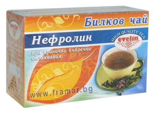 Изображение към продукта БИЛКОВ ЧАЙ НЕФРОЛИН ФИЛТЪР Х 20