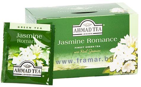 ЧАЙ ФИЛТЪР ЗЕЛЕН ЧАЙ С ЖАСМИН * 20 AHMAD TEA - изображение