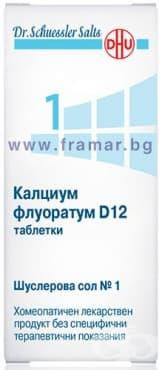 ШУСЛЕРОВИ СОЛИ НОМЕР 1 КАЛЦИУМ ФЛУОРАТУМ D12 таблетки * 420 - изображение