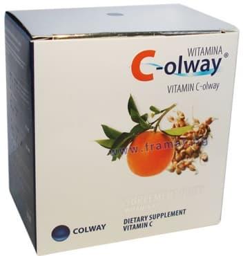 ВИТАМИН Ц - OLWAY капсули * 100 COLWAY - изображение
