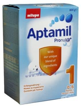 Изображение към продукта АПТАМИЛ 1  - 2 x 400 гр. - MILUPA
