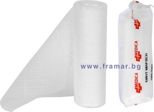 Изображение към продукта БИНТ МАРЛЕН 10 см./ 16 см