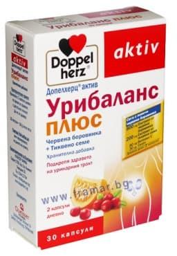 ДОПЕЛХЕРЦ УРИБАЛАНС ПЛЮС капсули * 30 - изображение