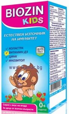 БИОЗИН КИДС сироп 100 мл. - изображение