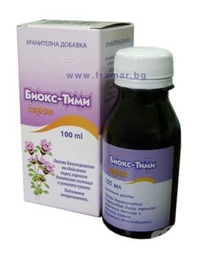 Изображение към продукта БИОКС ТИМИ сироп 100 мл.