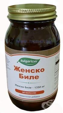 БУЛГАРИКУС ЖЕНСКО БИЛЕ капсули 450 мг. * 60 - изображение