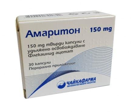 Изображение към продукта АМАРИТОН капсули 150 мг * 30 ЧАЙКАФАРМА
