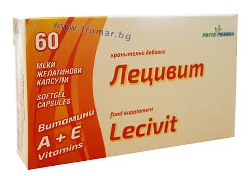 Изображение към продукта ЛЕЦИВИТ капсули * 60 ФИТОФАРМА