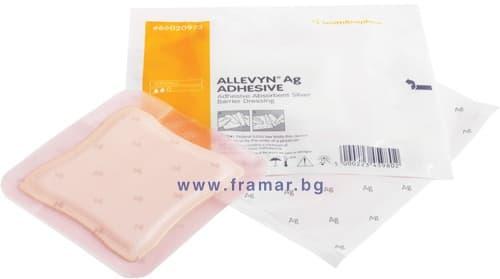 Изображение към продукта АЛЕВИН AG ADHESIVE превръзка 7.5 см. / 7.5 см. * 1 брой