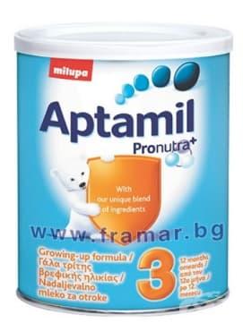 Изображение към продукта АПТАМИЛ 3 ПРОНУТРА 400 гр.