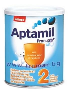 Изображение към продукта АПТАМИЛ 2 ПРОНУТРА 400 гр.