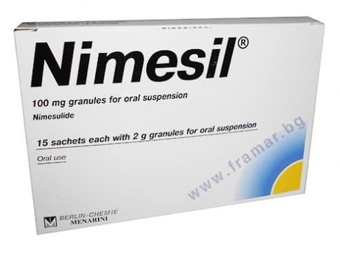 Изображение към продукта НИМЕЗИЛ гран. 100 мг. * 15