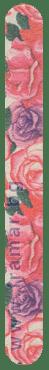 СТАНДЕЛИ ДИЗАЙНЕРСКА ПИЛА ЗА НОКТИ 150 / 180 РОЗИ 17.8 см - изображение