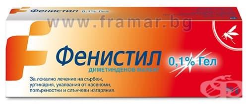 Изображение към продукта ФЕНИСТИЛ гел 0.1% 30 гр.