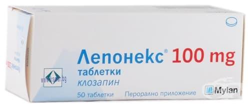 Изображение към продукта ЛЕПОНЕКС таблетки 100 мг * 50